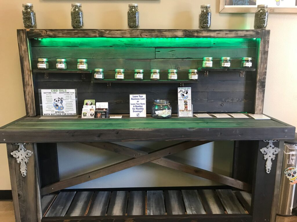 The Healing Panda Display Table